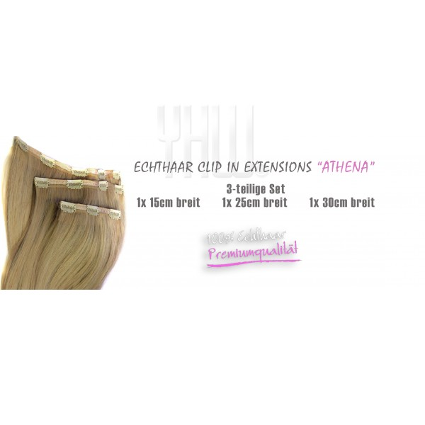 "Clip in Extensions ""ATHENA"" 3-Teilige Set"