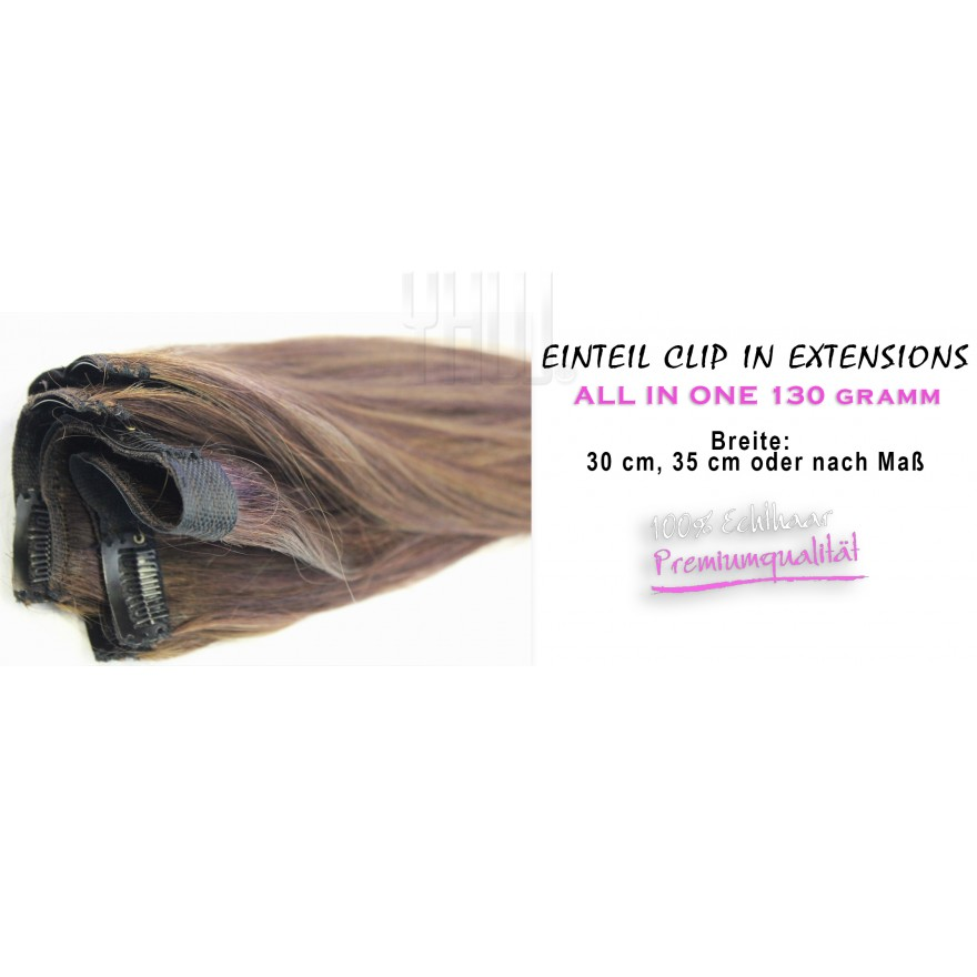 ALL IN ONE - Einteil Clip In Extensions 60 cm Haarlänge