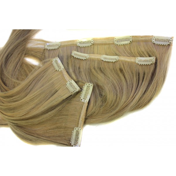 Echthaar Clip in Extensions Set SECRET 200 Gramm