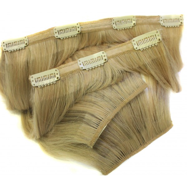 Echthaar Clip in Extensions Set SECRET 100 Gramm